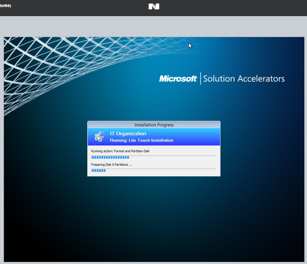 Using Nutanix Community Edition with MDT to deploy VMs