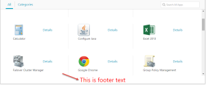 Footer