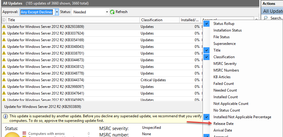 MDT OS Patching Using WSUS and PowerShell