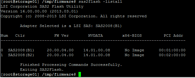 Resolving FreeNAS Firmware Version does not Match