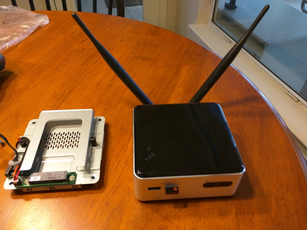 Intel NUC External Antenna | Jacob Rutski | SeriousTek