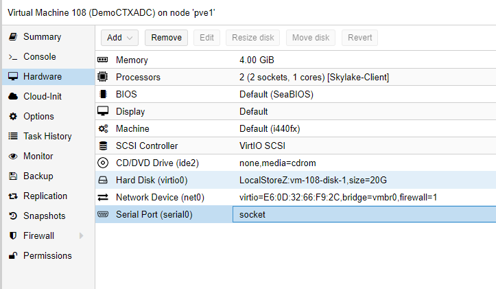 Installing Citrix ADC (NetScaler) on Proxmox | Jacob Rutski